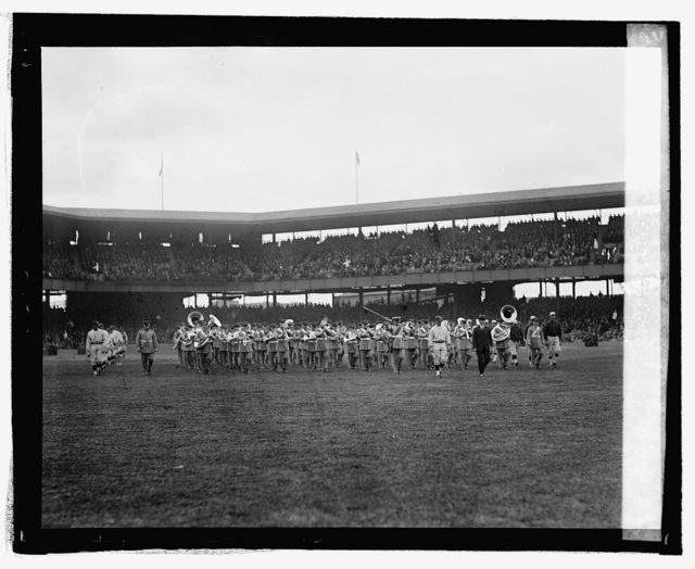American League Pennant raising at ball park, May 1, 25