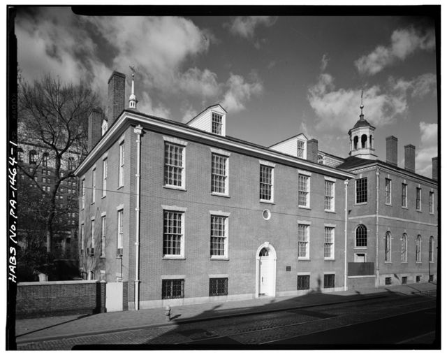 American Philosophical Society, 104 South Fifth Street, Philadelphia, Philadelphia County, PA