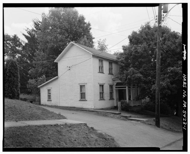 Andrew Andre House, 821 High Street, Saltsburg, Indiana County, PA