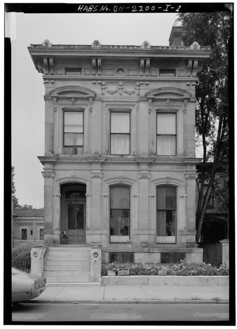 Andrew Hickenlooper House, 838 Dayton Street, Cincinnati, Hamilton County, OH