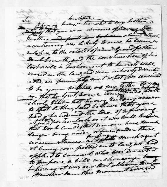 Andrew Jackson Donelson to James Sanders