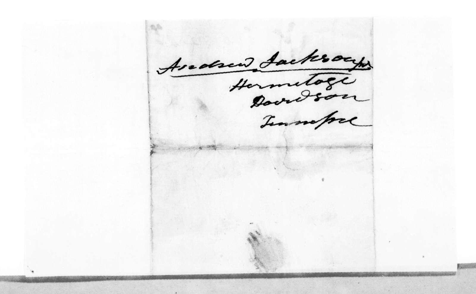 Andrew Jackson to Andrew Jackson, Jr.