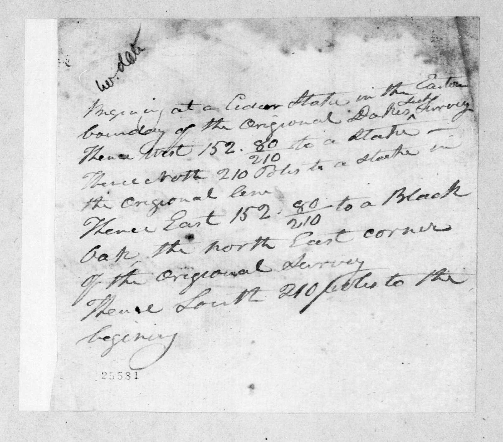 Andrew Jackson to Edward Ward