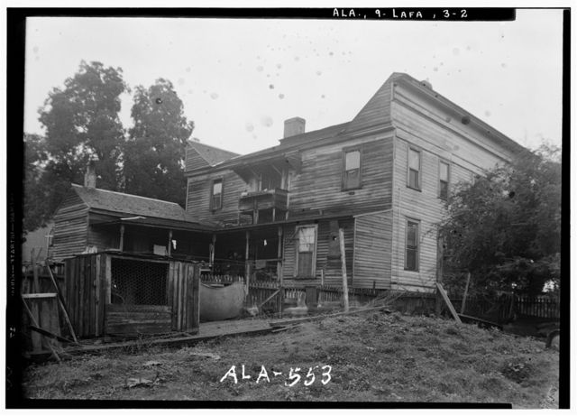 Andrews House, South Lafayette Street (U.S. Route 431), Lafayette, Chambers County, AL