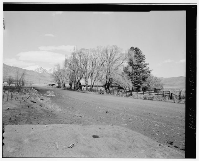 Andrews Stone House, County Road 201, approximately 13 miles north of Highway 205 at Fields, Oregon, Andrews, Harney County, OR