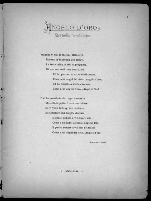 Angelo D'Oro