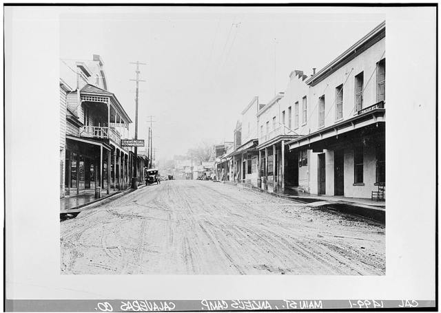 Angels Camp, General View, Main Street, Angels Camp, Calaveras County, CA