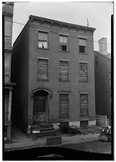 Anthony Beam House, 14 Mulberry Place, Newark, Essex County, NJ