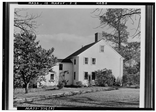 Anthony Thomas House, Marshfield, Plymouth County, MA