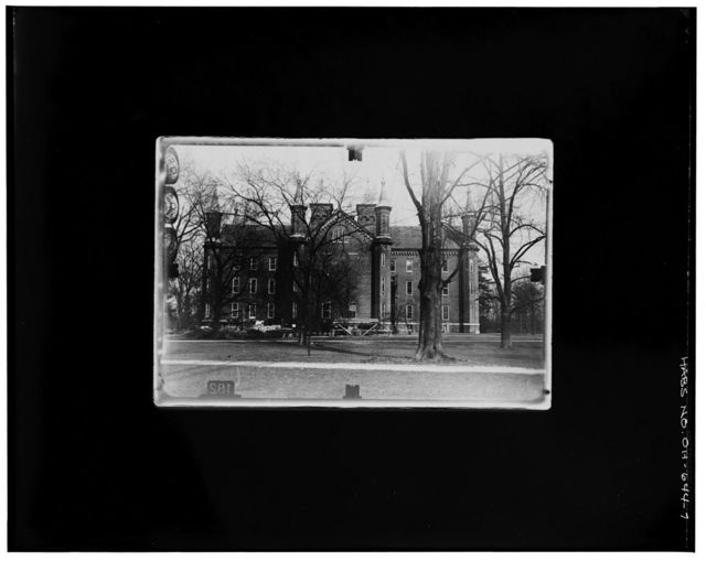 Antioch College, Main Hall, Livermore Street & North College Avenue, Yellow Springs, Greene County, OH