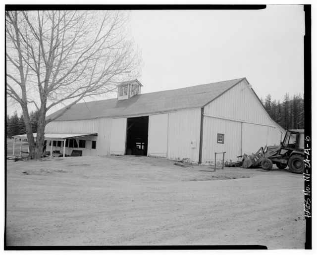 Antonio Sala Ranch, Barn, 7300 Franktown Road, Washoe City, Washoe County, NV