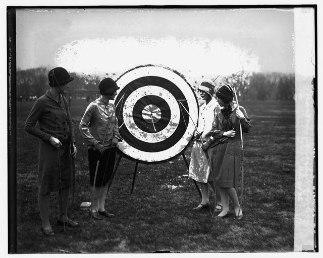 Archery, Marjory Webster School, 11/30/26