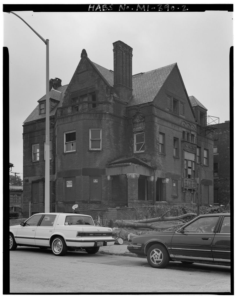 Ario P. Platt House, 110 Eliot Street (Formerly 58 Eliot Street), Detroit, Wayne County, MI
