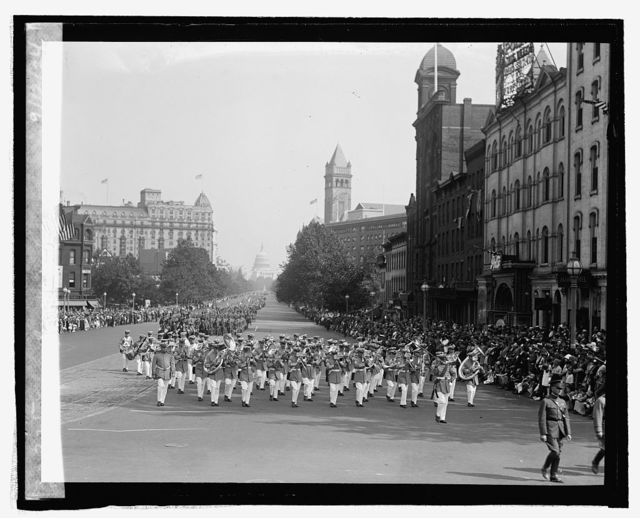 Army Band, Defense Day parade, 9/12/24