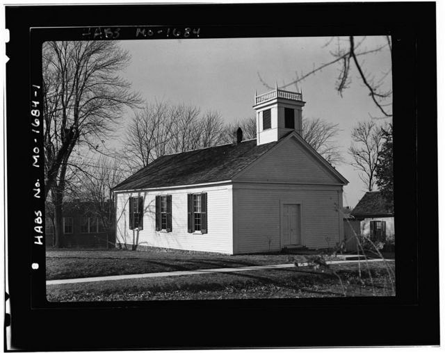 Arrow Rock Lutheran Church, Arrow Rock, Saline County, MO