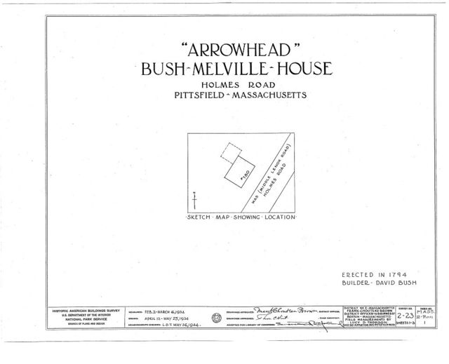 Arrowhead, 780 Holmes Road, Pittsfield, Berkshire County, MA