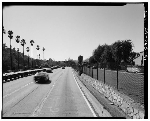 Arroyo Seco Parkway, Los Angeles to Pasadena, Los Angeles, Los Angeles County, CA