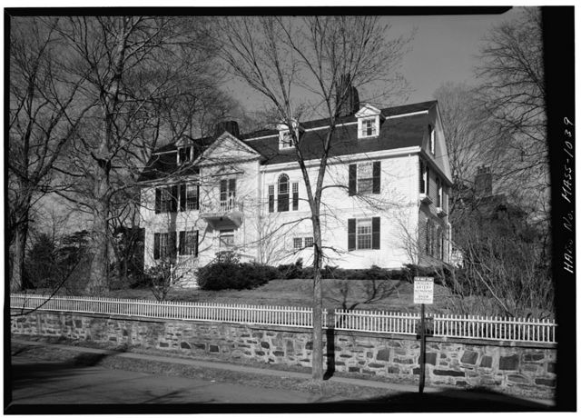 Arthur Astor Carey House, 28 Fayerweather Street, Cambridge, Middlesex County, MA