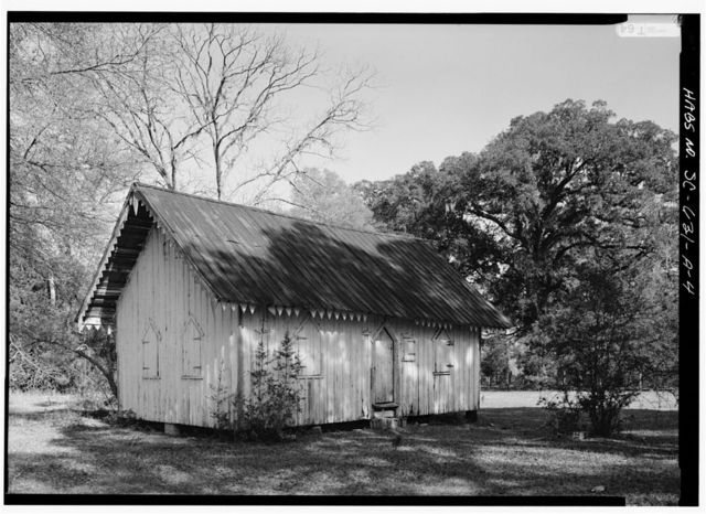 Arundel Plantation, Slave Cabin, Intersection of Routes 701 & 4, Georgetown, Georgetown County, SC