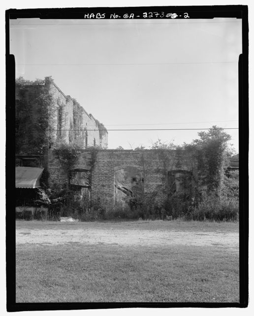 Aspinwall-Perkins-Hires Building, U.S. Highway 341, 50 feet southeast of Carter Avenue, Odum, Wayne County, GA