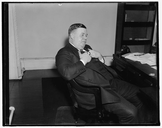 Assistant to Secretary of State. Washington, D.C., Dec. 18. A new informal photograph of George Fort Milton, Chattanooga publisher, now special assistant to Secretary of State Cordell Hull, 12/18/37