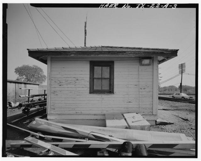 Atchison, Topeka & Santa Fe Control Tower 19, Maintence Shed, Santa Fe Railway Milepost 51, Dallas, Dallas County, TX