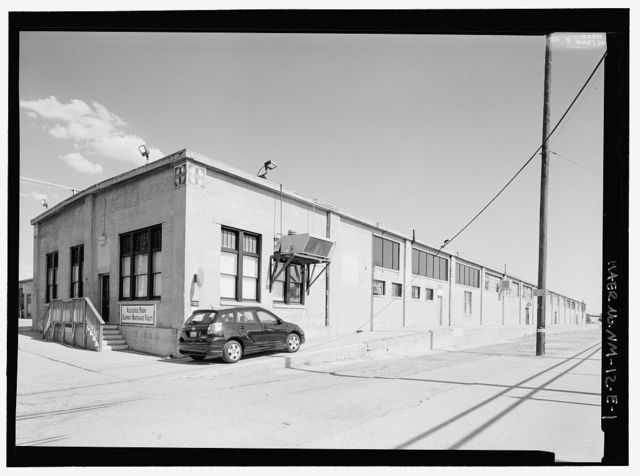 Atchison, Topeka, Santa Fe Railroad, Albuquerque Shops, Storehouse, 908 Second Street, Southwest, Albuquerque, Bernalillo County, NM