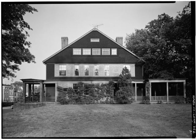 Atwater-Ciampolini House, 321 Whitney Avenue, New Haven, New Haven County, CT