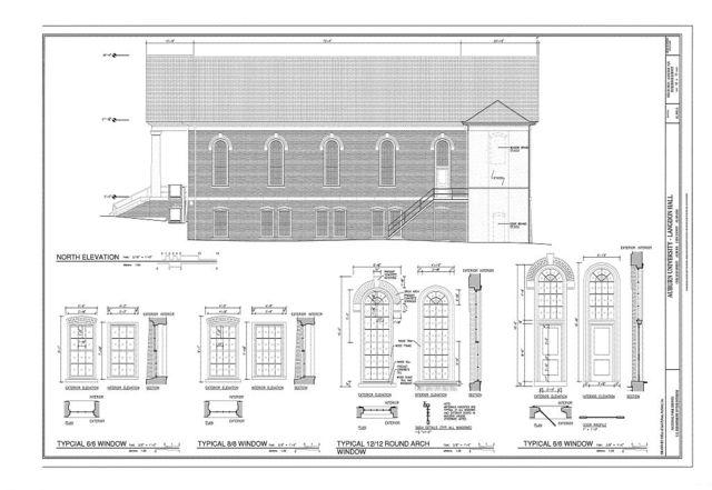 Auburn University, Langdon Hall, College Street, Auburn, Lee County, AL
