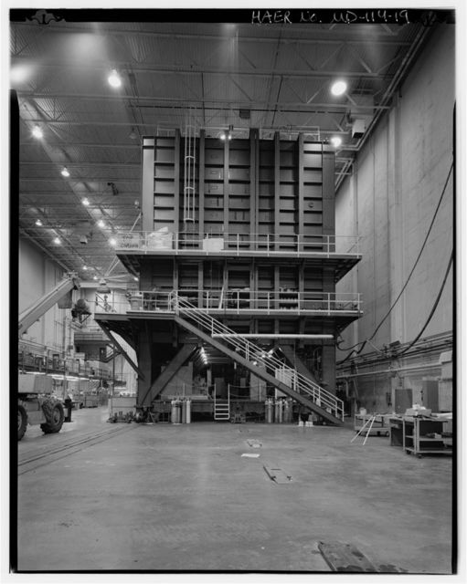 Aurora Pulsed Radiation Simulator, U.S. Army Research Laboratory, Building No. 500, Adelphi, Prince George's County, MD