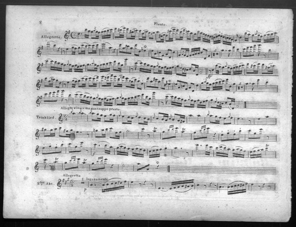 Auswahl der beliebtesten Gesänge aus der Oper Der