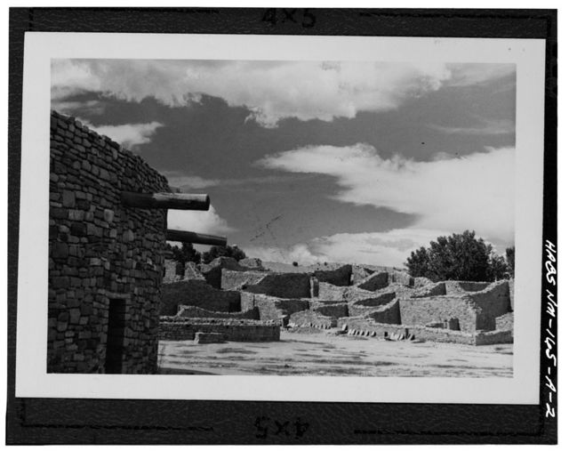 Aztec Ruins, West Ruin, New Mexico 44 near junction of U.S. 550, Aztec, San Juan County, NM