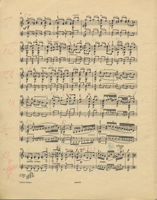 Bach, Johann Sebastian. Sonatas and Partitas for Violin, BWV 1005