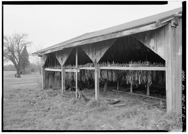 Bachelor's Hope, Tobacco Shed, Manor Road, Chaptico, St. Mary's County, MD