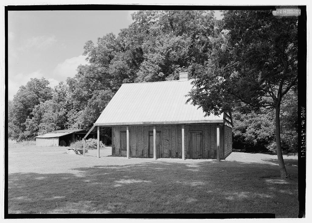 Badin-Roque House, State Highway 484, Natchez, Natchitoches Parish, LA