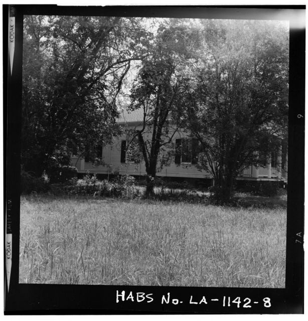 Bagatelle Plantation, East River Road (moved to Iberville Parish), Donaldsonville, Ascension Parish, LA