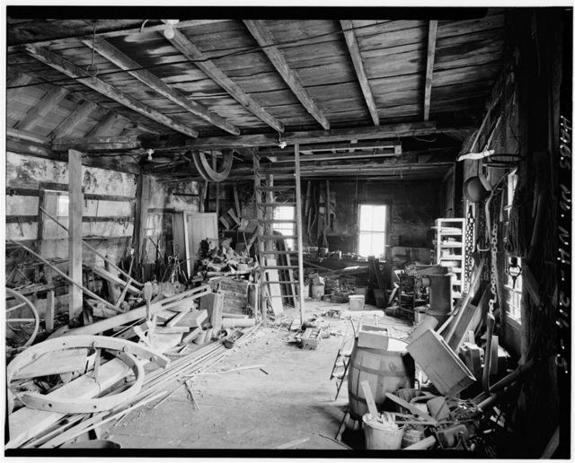 Baker-Booth Blacksmith Shop, Lear Hill Road, West of Route 10, Goshen, Sullivan County, NH