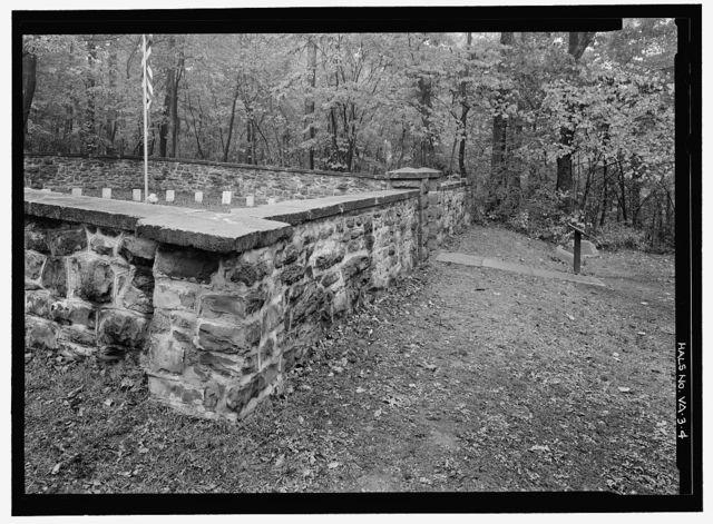 Balls Bluff National Cemetery, Route 7, Leesburg, Loudoun County, VA