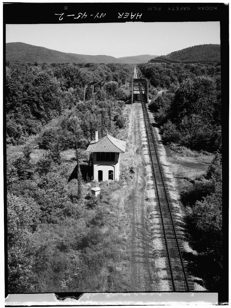 Baltimore & Ohio Railroad, Riverside Junction Interlocking Tower, Allegheny River Vicinity, Limestone, Cattaraugus County, NY