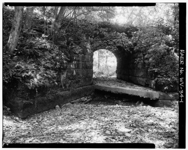 Baltimore & Ohio Railroad, Stone Bridges 1 & 2, Between Gassaway & Sutton, Gassaway, Braxton County, WV