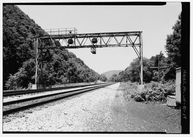 Baltimore & Ohio Railroad, Z Tower, State Route 46, Keyser, Mineral County, WV
