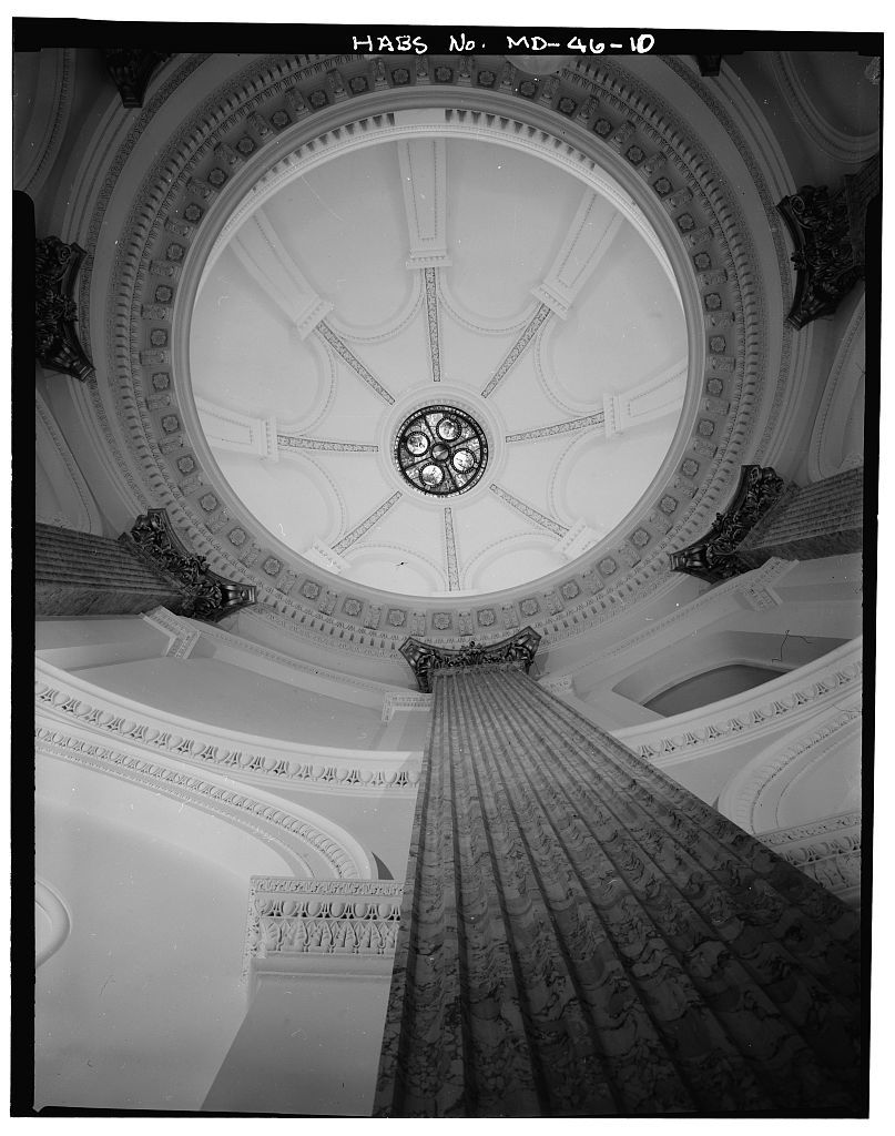 Baltimore City Hall, Holliday Street, Baltimore, Independent City, MD