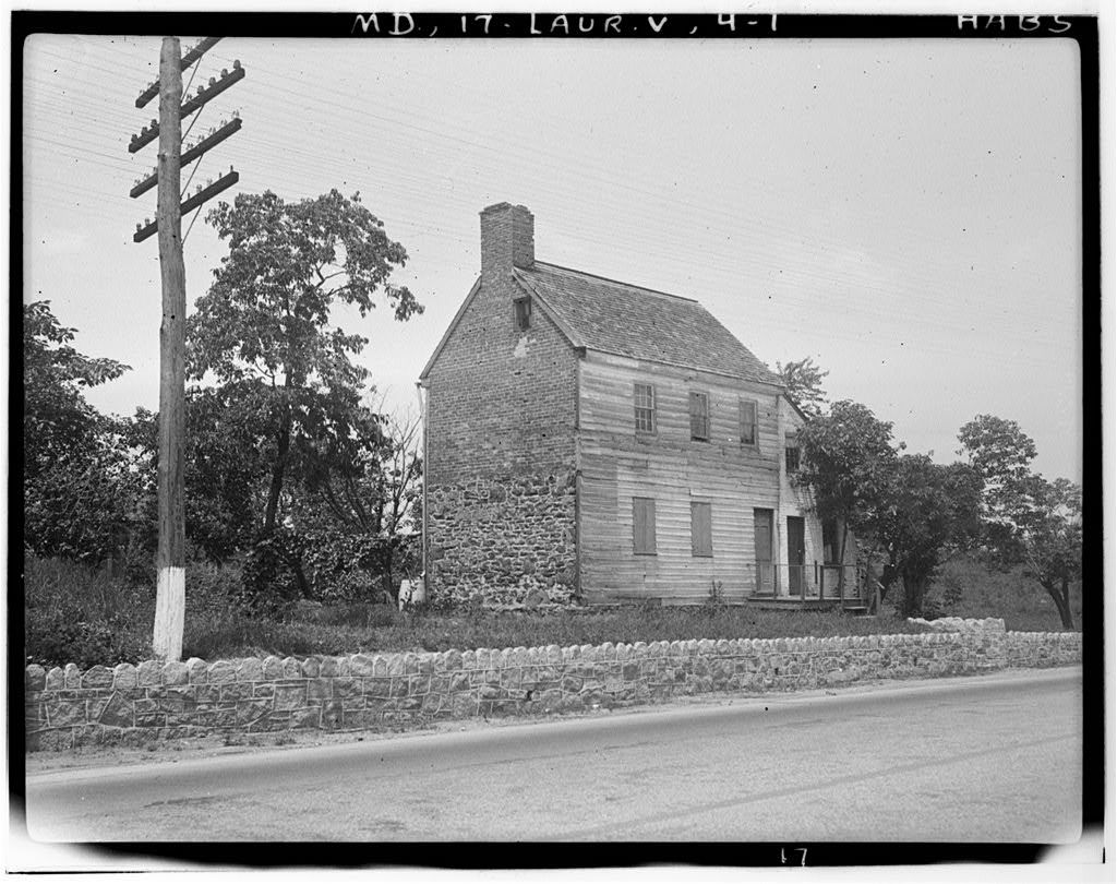 Baltimore Road (House), Laurel, Prince George's County, MD