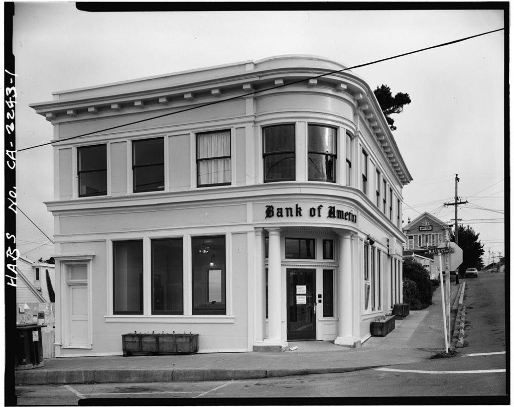 Bank of Commerce, 45100 Main Street, Mendocino, Mendocino County, CA
