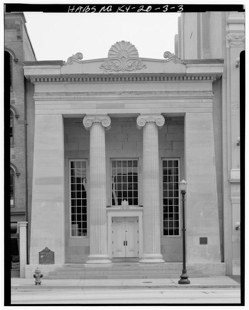 Bank of Louisville Building, 322 West Main Street, Louisville, Jefferson County, KY