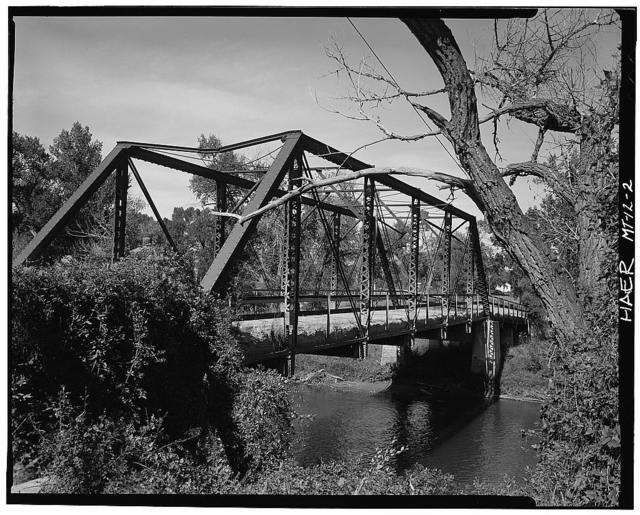 Barber Bridge, Spanning Musselshell River, Barber, Golden Valley County, MT