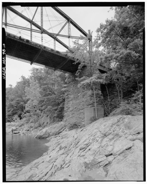 Bardwell's Ferry Bridge, Spanning Deerfield River on Bardwell's Ferry Road, Shelburne, Franklin County, MA