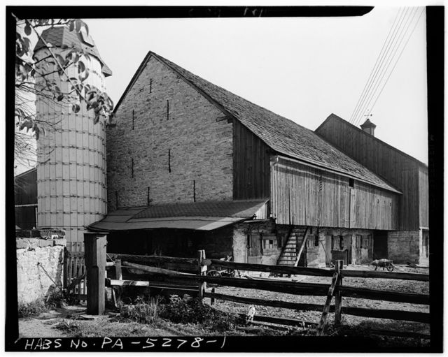 Barn (1787), State Route 73 (Oley Township), Friedensburg, Schuylkill County, PA