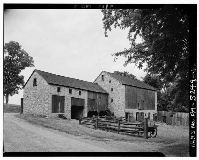 Barn, 1790, State Route 23, Upper Merion Township, King of Prussia, Montgomery County, PA