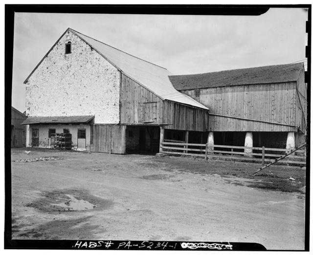 Barn, Legislative Route 15146 (Honeybrook Township), Honey Brook, Chester County, PA